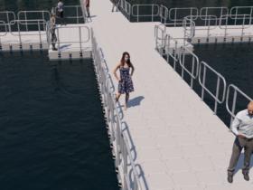 Pontili galleggianti