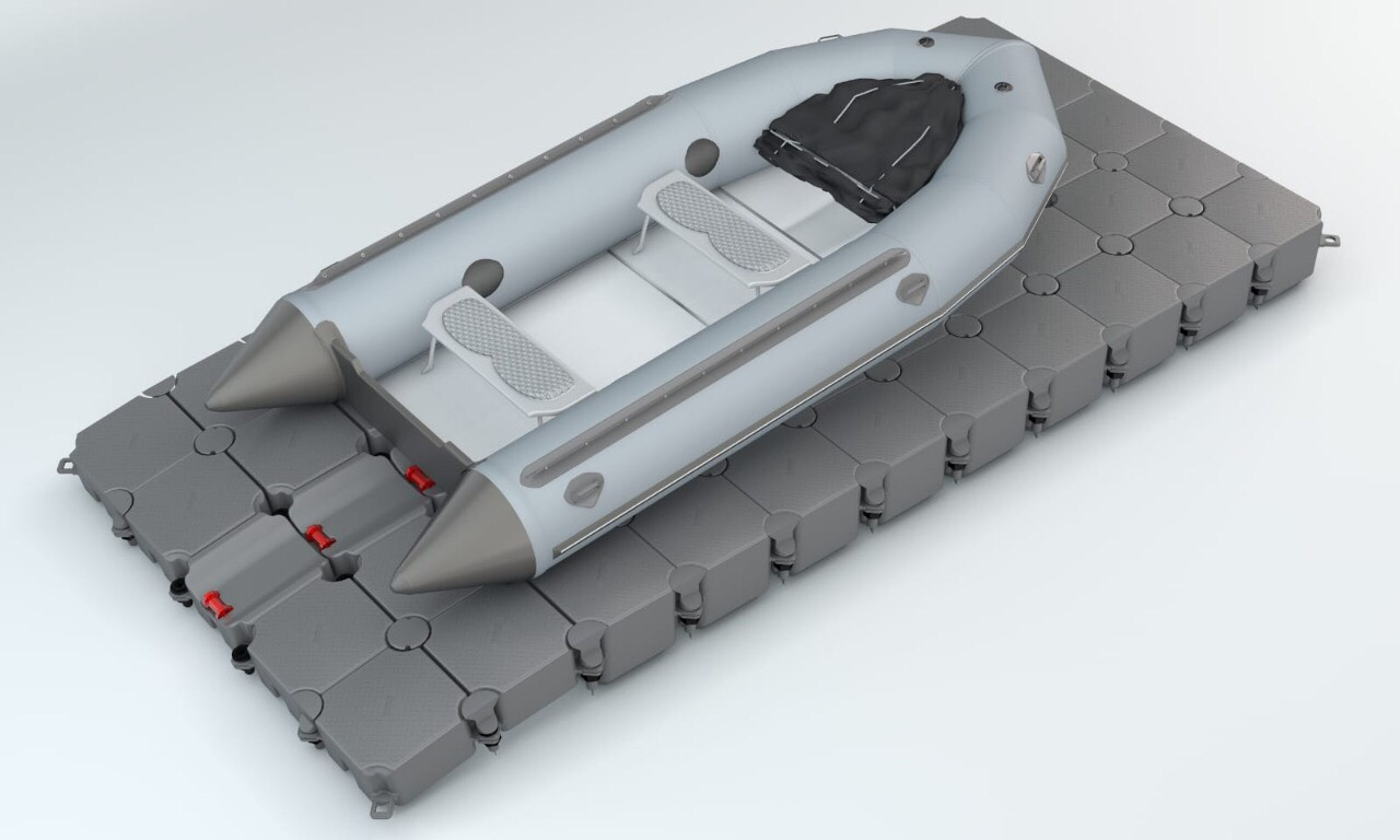 Small boat platform Buldock Oliva srl